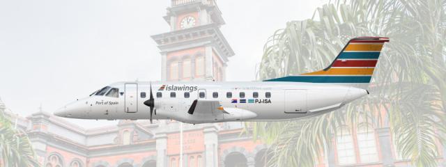 Islawings Embraer E120 (2011-) | PJ-ISA