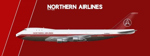 Northern Boeing 747-100 1970-1987