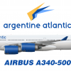 Argentine Atlantic Livery (A340-500)
