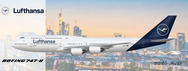 Lufthansa | 747-8i | New livery - 5280_Av8r's Liveries