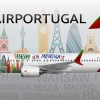Air Portugal | 737 MAX-8 | Fly with Air Portugal Livery