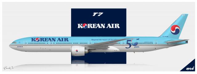 Korean Air Lines Boeing 777-300ER