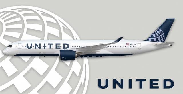 United Airlines Airbus A350-900 ~concept~