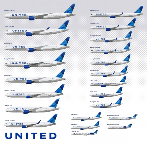United Airlines fleet in new livery - concepts - Gallery