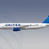 United airlines downgraded livery