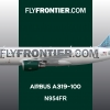Frontier Airlines A319 N954FR