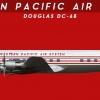 Western Pacific Air System Douglas DC-6B 1940-1958