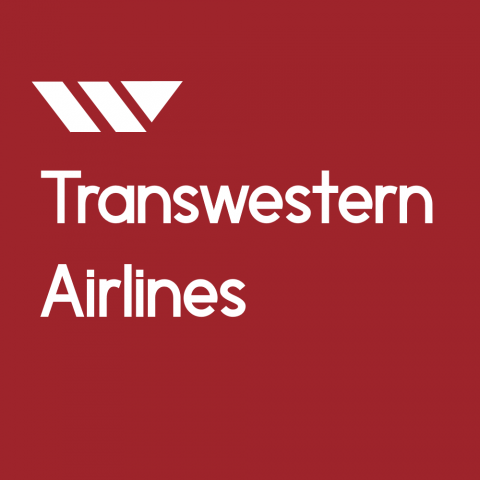Transwestern Airlines Logo