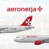 2000-2018   Aeronetja A320-200 (9H-VTC) and A320-200S (9H-MGC)
