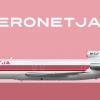 1989-2000 | Aeronetja B727-200Adv (9H-ELP)