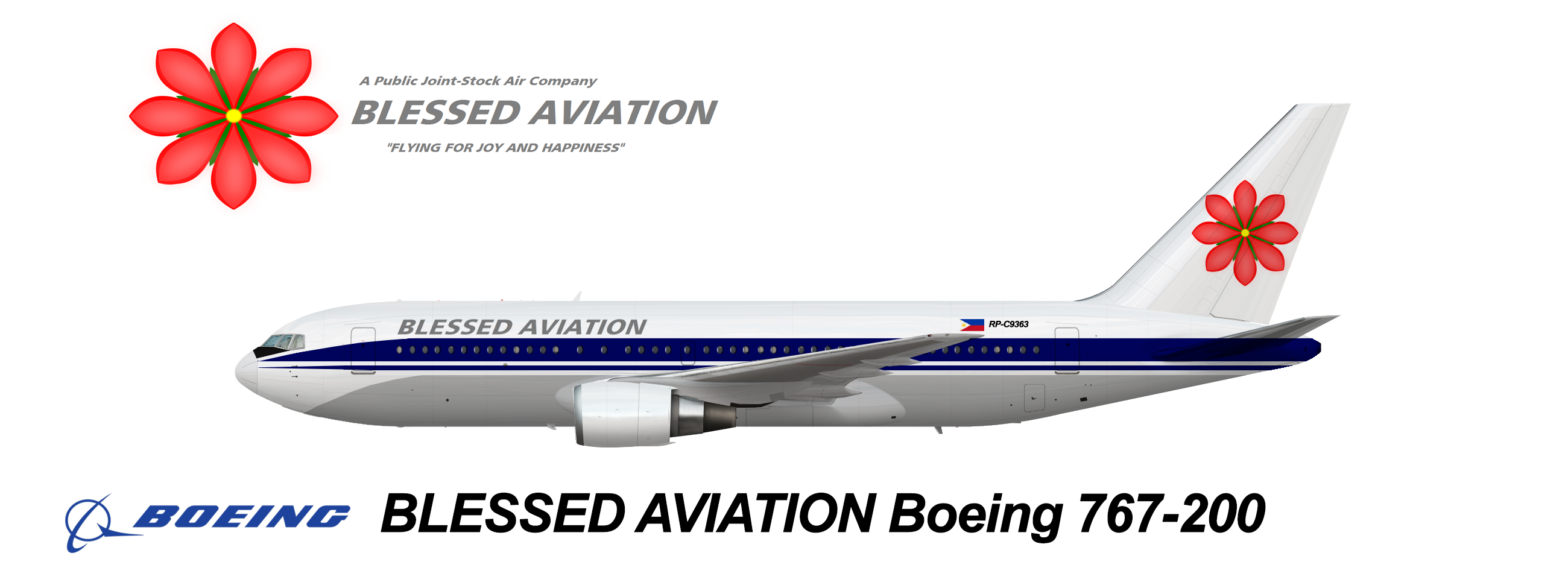 Blessed Aviation Boeing 767-200