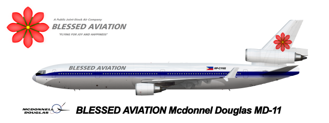 Blessed Aviation McDonnel Douglas MD-11