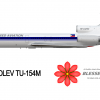 Blessed Aviation Tupolev Tu-154M