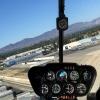 R44 Approaching Van Nuys (Los Angeles)