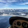 Climbing Out over South Lake Tahoe (KTVL)