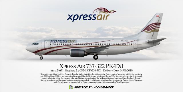 Xpress Air Boeing 737-322