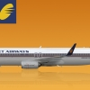 Jet Airways Old Livery Boeing 737-800