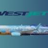 WestJet Disney Frozen Boeing 737-800