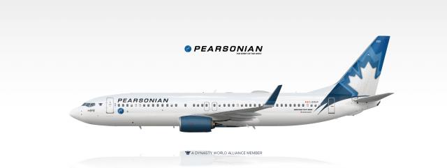 """Boeing 737-800   """"The Spirit of Calgary""""   C-GMAP"""
