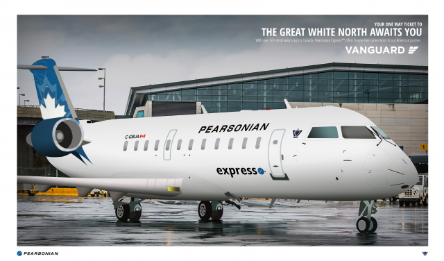"""""""Your one-way ticket to the Great White North Awaits You + Vanguard Partnership"""" Advertisement 