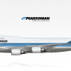 "Boeing 747-400 | ""Prince Rupert"" | C-GBAC (80s scheme)"