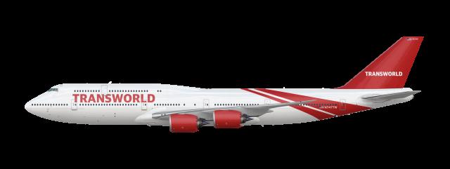 TWA Revival 747 8i