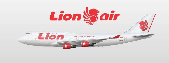 Lion Air Boeing 747-400