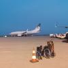 Saudi BBJ at AXD