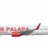 Air Palapa 737 800
