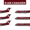 Air Canadien Fokker Fleet