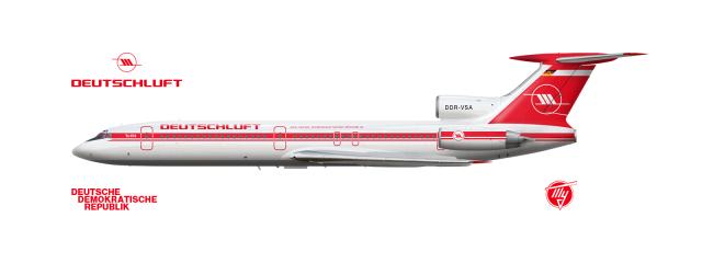 Deutschluft | Tupolev Tu-154