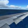 Landing in Male B767-300ER