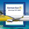 Boeing 737-800 German Sun