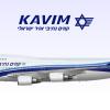 Kavim Boeing 747-400 | 4X-ENA