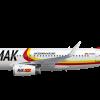 MAK Macedonian Airbus A319
