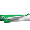 Emerald A350 900 tail 2