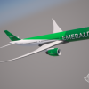 Emerald A330-900neo Flying
