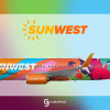 SunWest Boeing 737-800 'Funkliner' Special livery