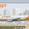 Post-Merger SunWest 737-300