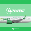 SunWest Boeing 737-8 MAX 'Ecoliner' Special livery