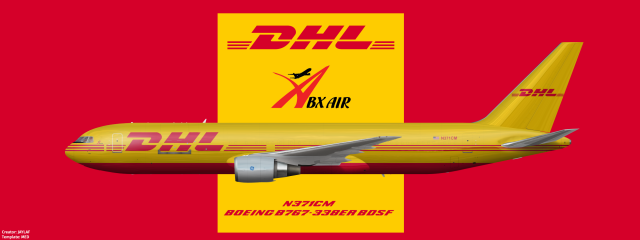 DHL B767 300BCF