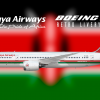 Kenya Airways Boeing 787-8 Retro Livery