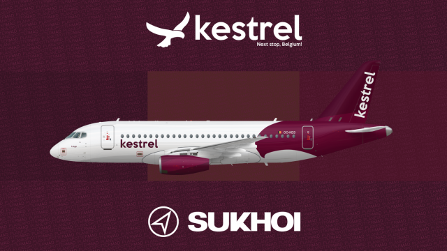 Kestrel | Sukhoi Superjet 100 - Non-real Airline Concepts - Gallery