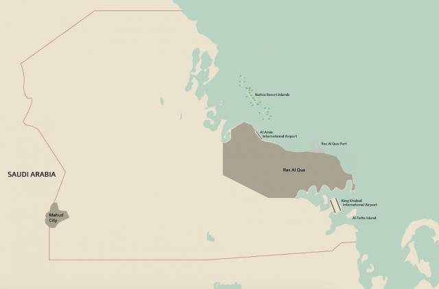 Map of Dhahran