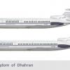 Hawker Siddeley Tridents   1976