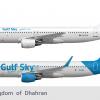 Gulf Sky A320s | 2019-2020