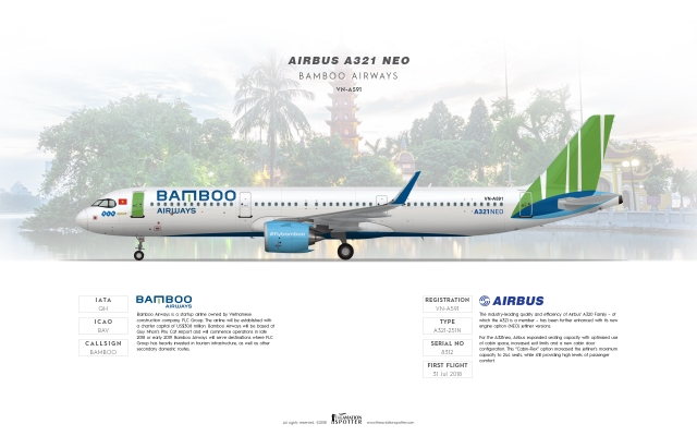 Bamboo Airways Airbus A321 Neo - Theaviationspotter\'s ...