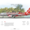 AirAsia Airbus A320 200 ''All Star Livery''