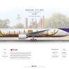 THAI Airways Boeing 777 300 ''Suphannahong Livery''