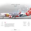 AirAsia Airbus A320 200 ''Heroes Park''